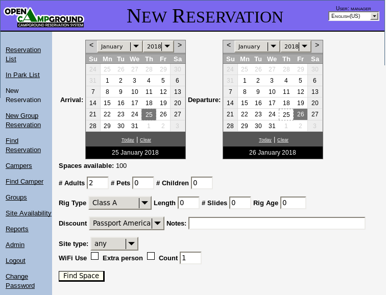 booking system software